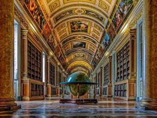 Собирать пазл Глобус в библиотеке онлайн