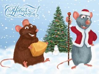 Собирать пазл Год Крысы онлайн