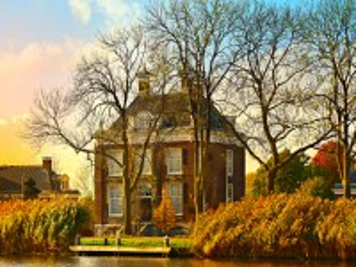 Собирать пазл Голландский дом онлайн