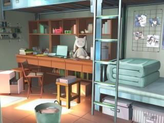 Собирать пазл Голубая комната онлайн