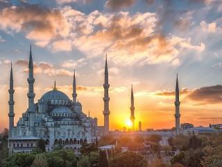 Собирать пазл Голубая мечеть онлайн