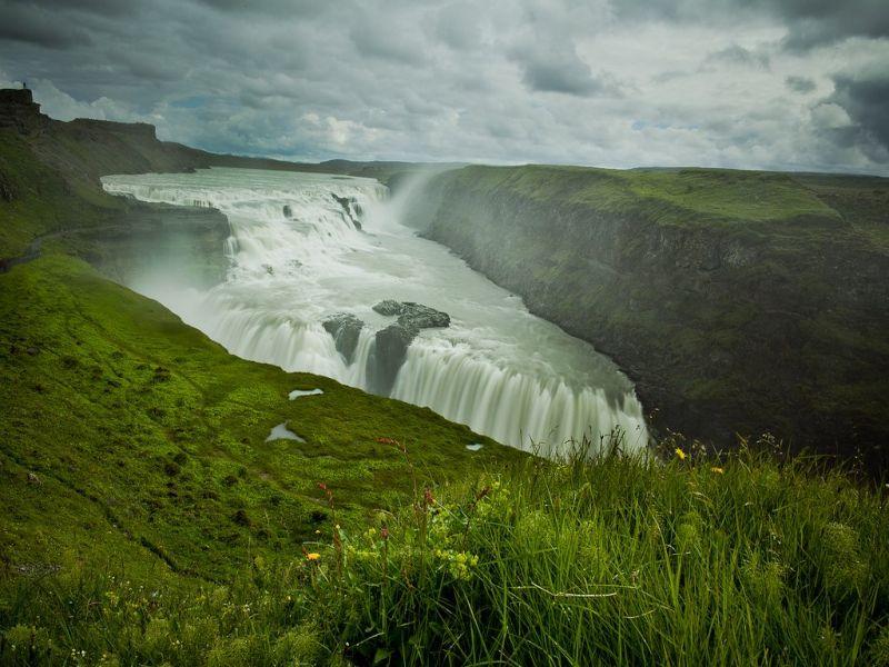 Пазл Собирать пазлы онлайн - Горная река Исландии
