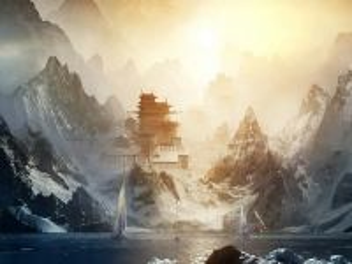 Собирать пазл Горный Китай онлайн
