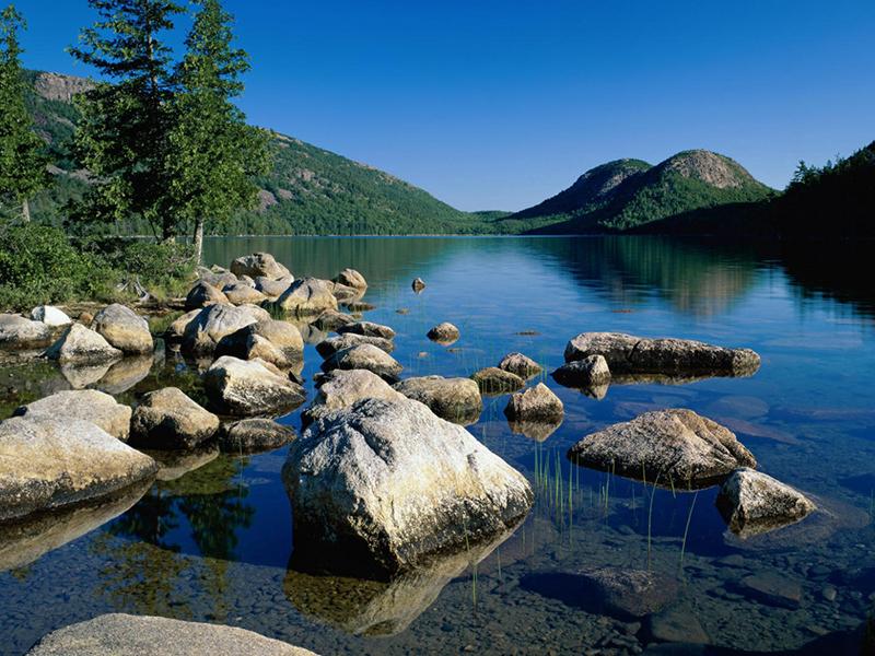 Пазл Собирать пазлы онлайн - Горное озеро