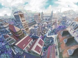 Собирать пазл Город онлайн