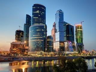Собирать пазл Москва Сити онлайн