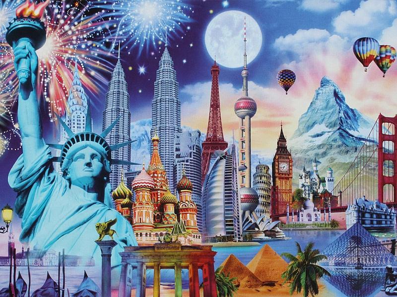 Разные страны открытки
