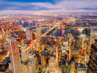 Собирать пазл Городские огни онлайн
