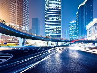 Собирать пазл Городской мост онлайн