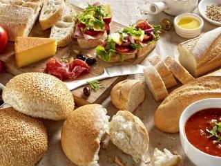 Собирать пазл Готовим бутерброды онлайн