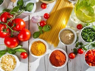 Собирать пазл Готовим спагетти онлайн
