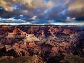 Собирать пазл Grand Canyon Sunrise онлайн