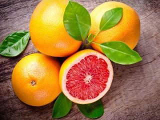 Собирать пазл Грейпфруты онлайн
