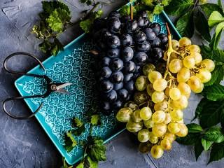 Собирать пазл Гроздья винограда онлайн