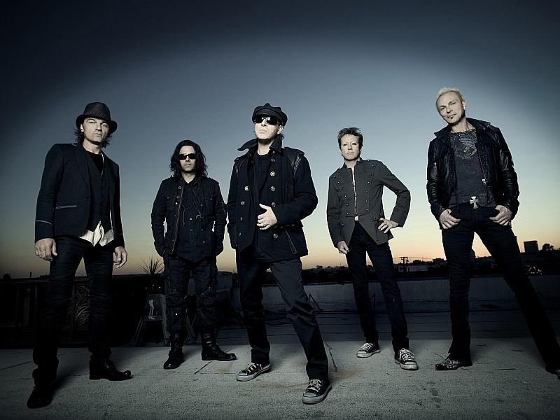 Пазл Собирать пазлы онлайн - группа Scorpions