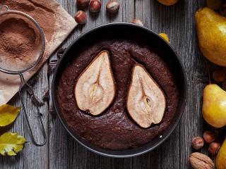 Собирать пазл Грушевый пирог онлайн