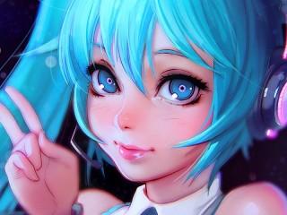 Собирать пазл Хацунэ Мику онлайн