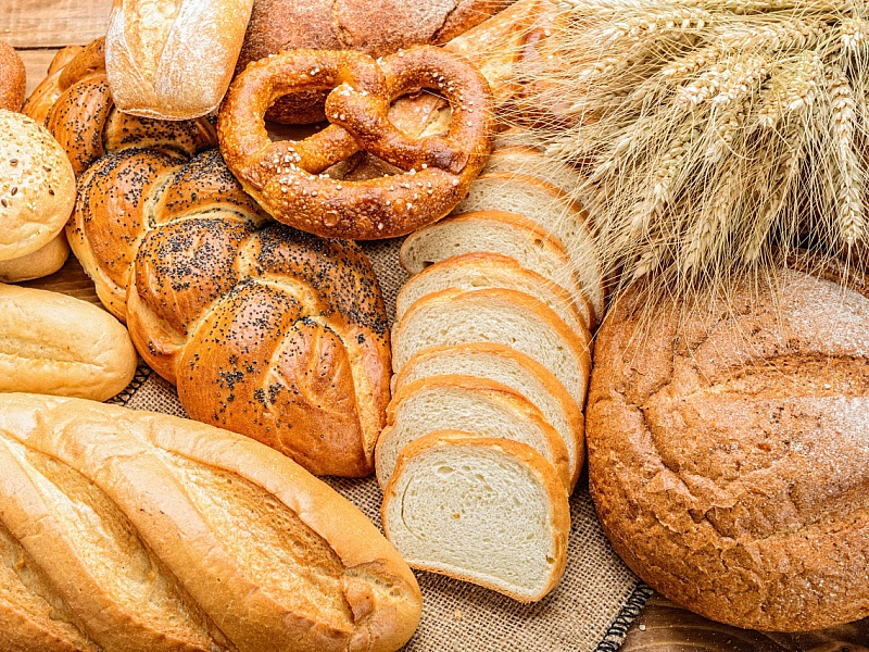 Пазл Собирать пазлы онлайн - Хлеб