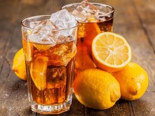 Собирать пазл Холодный чай онлайн