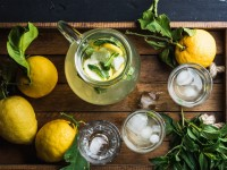 Собирать пазл Холодный лимонад онлайн