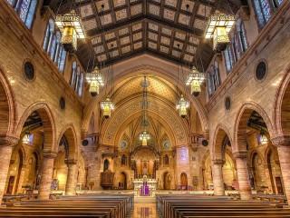 Собирать пазл Holy Ghost church онлайн