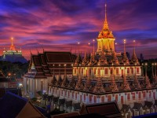 Собирать пазл Храм в Бангкоке онлайн