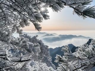 Собирать пазл Хуаншань онлайн