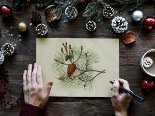 Собирать пазл Художник рисует онлайн