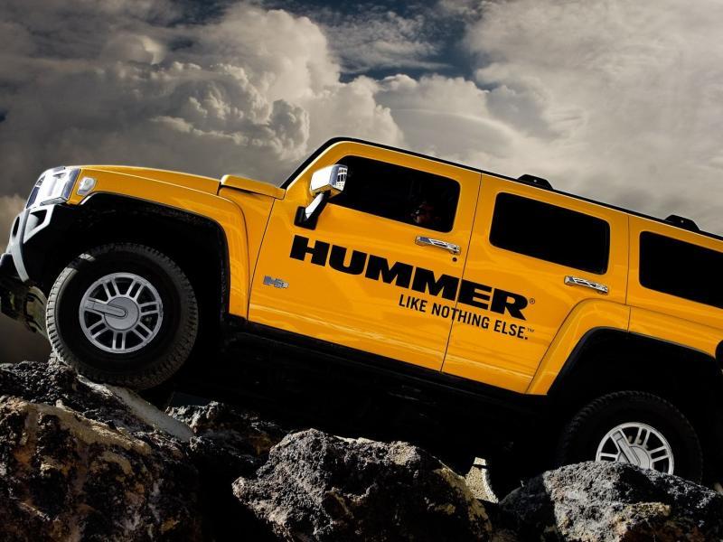 Пазл Собирать пазлы онлайн - Hummer