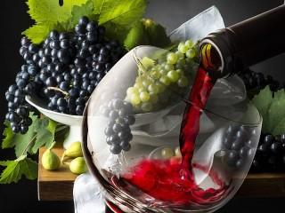 Собирать пазл Вино онлайн