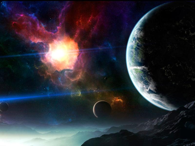 Пазл Собирать пазлы онлайн - Инопланетный мир 1