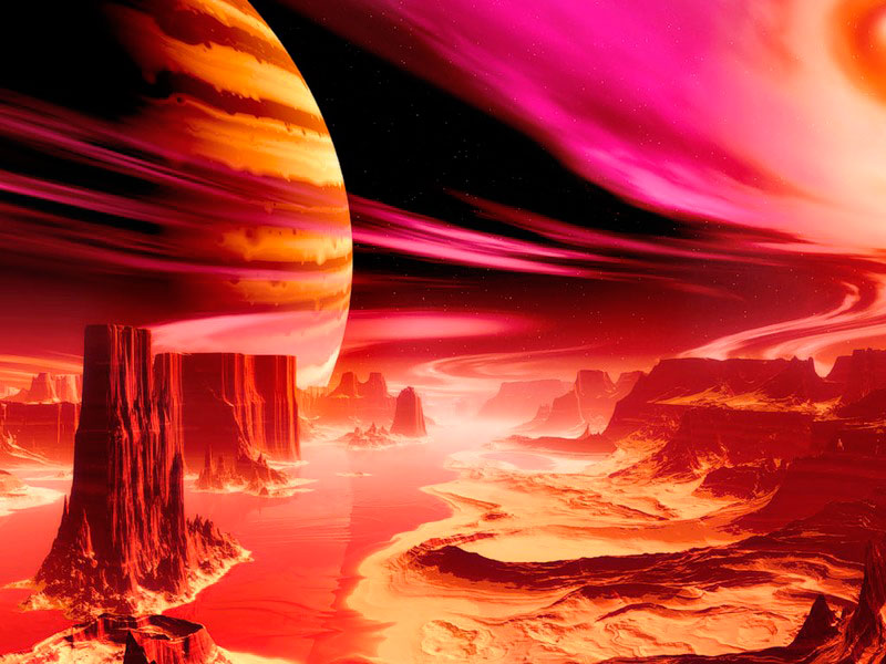 Пазл Собирать пазлы онлайн - Инопланетный мир 2