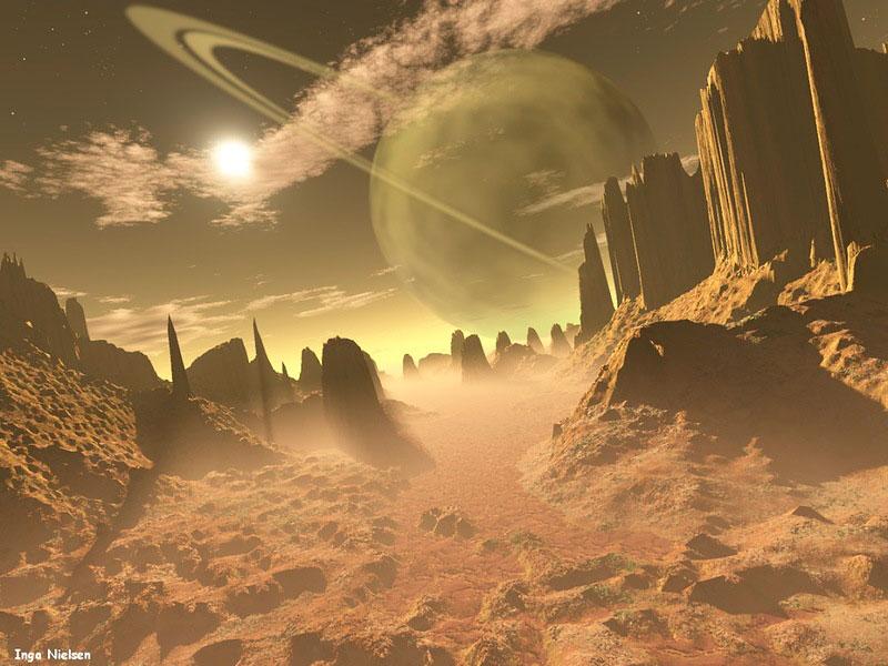 Пазл Собирать пазлы онлайн - Инопланетный мир 6
