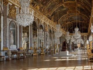 Собирать пазл Интерьер Версаля онлайн