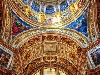 Собирать пазл Исаакиевский собор онлайн