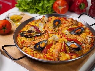 Собирать пазл Испанская кухня онлайн