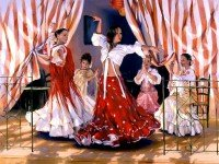 Собирать пазл Испанский танец онлайн