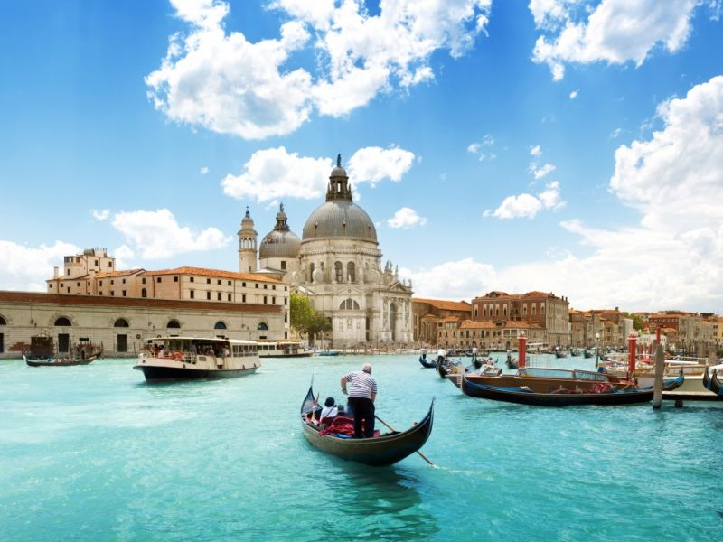 Пазл Собирать пазлы онлайн - Италия Венеция