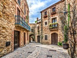 Собирать пазл Итальянская деревня онлайн