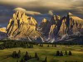 Собирать пазл Итальянские Альпы онлайн