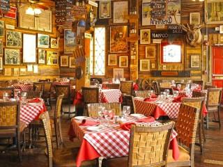 Собирать пазл Итальянский ресторан онлайн