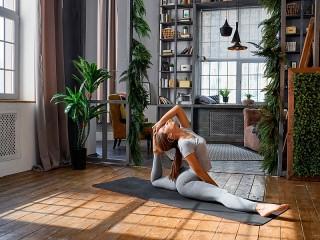 Собирать пазл Йога онлайн