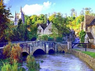 Собирать пазл Йоркшир-Дейлс онлайн