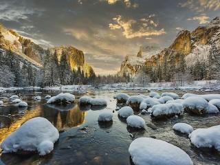 Собирать пазл Йосемити онлайн