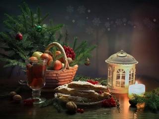 Собирать пазл К Новому году онлайн