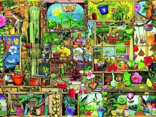 Собирать пазл Кабинет садовника онлайн