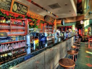 Собирать пазл Кафе-бар онлайн