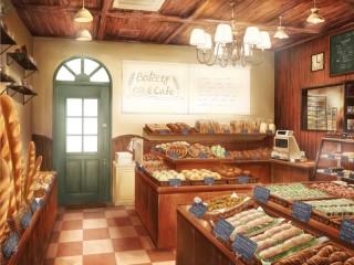 Собирать пазл Кафе-пекарня онлайн