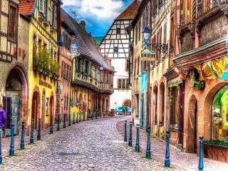 Собирать пазл Кайзерберг Франция онлайн