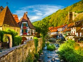 Собирать пазл Кайзерсберг Франция онлайн